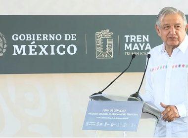 Militarizará AMLO obras del Tren Maya y nuevos aeropuertos del Sureste