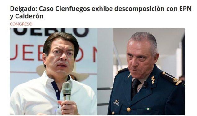 Ex agente de la DEA reta: manden a Cienfuegos para enjuiciarlo