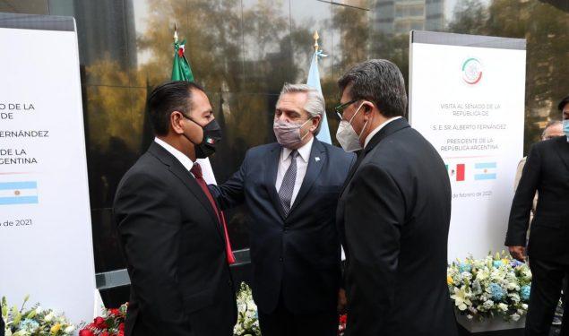 Nueva relación México y Argentina para sacar a AL de la pandemia, propone Ricardo Monreal