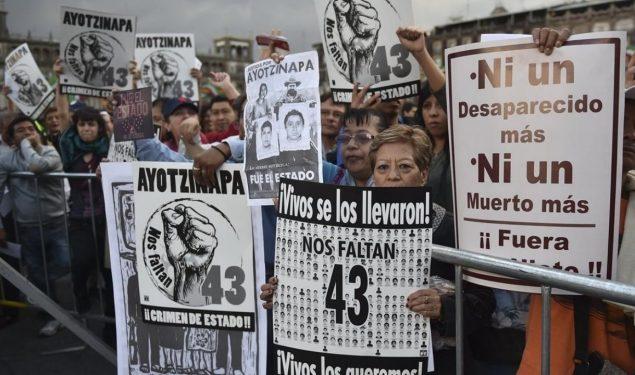 SFP investiga a integrantes de las Fuerzas Armadas por caso Ayotzinapa