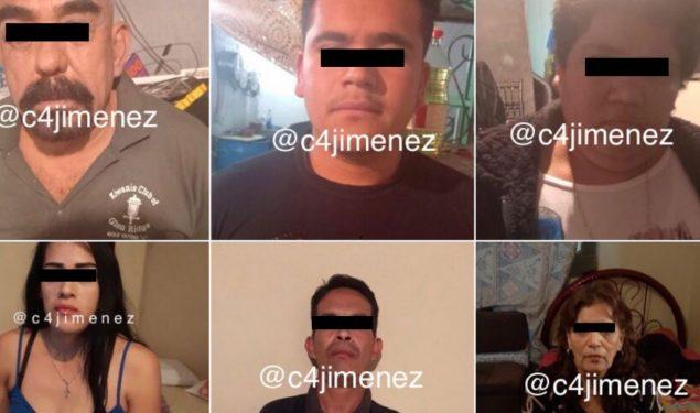 Caen siete presuntos operadores del 'Güero Fresa' tras cateos en Iztapalapa